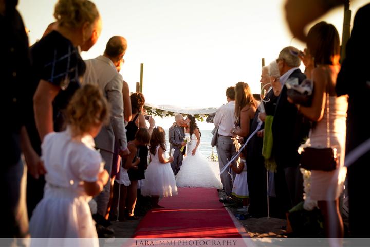 Matrimonio In Spiaggia Costi : Matrimonio sulla spiaggia con chiara sirena perfetta
