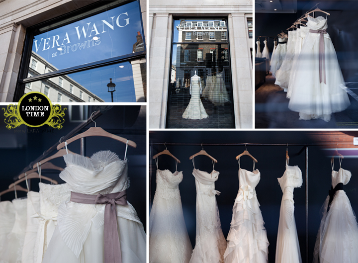 Vera Wang shop in London