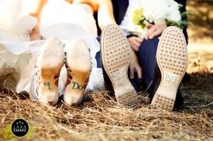 stickers scarpe sposi