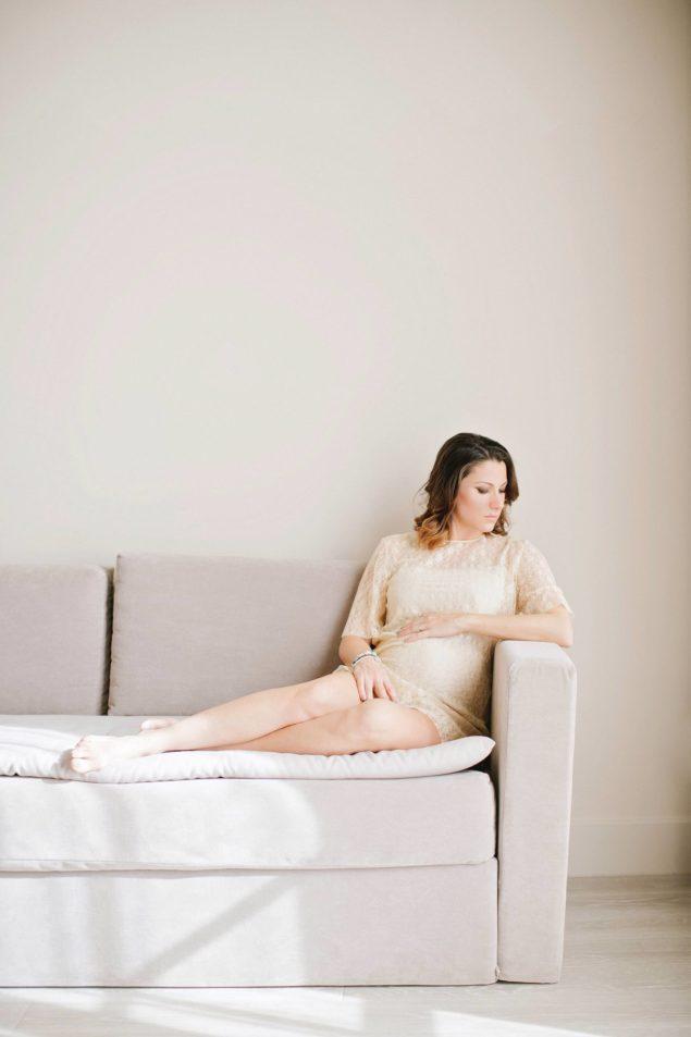 fotografie donna dolce attesa