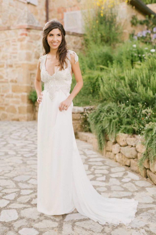 abito sposa toscana