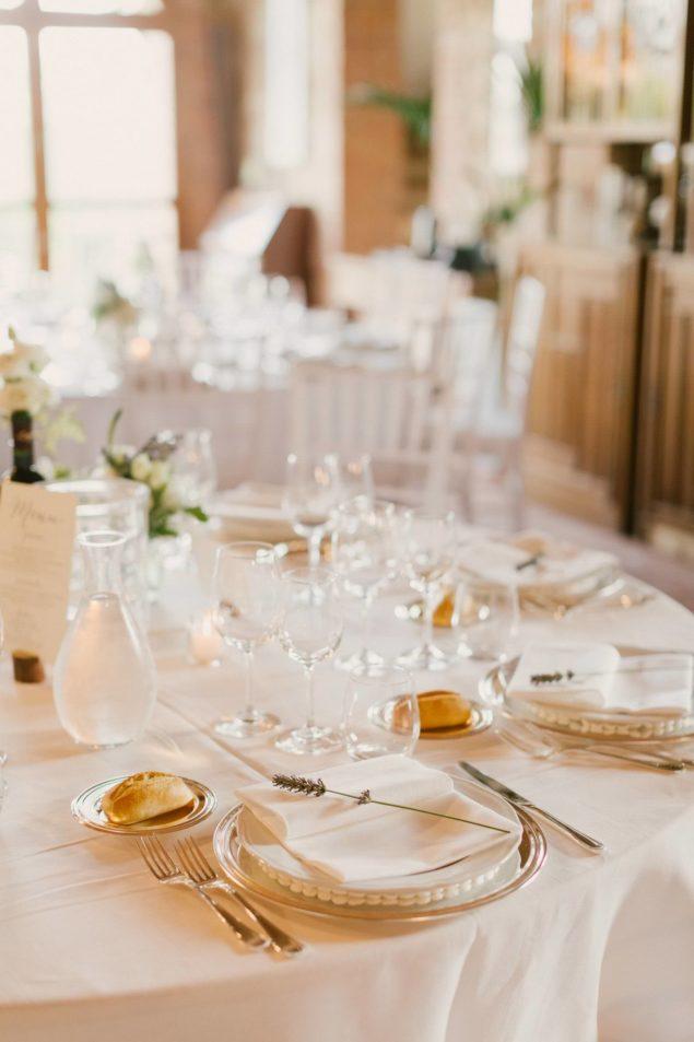allestimento tavola nozze pienza