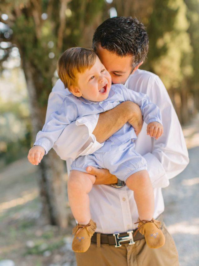 foto babbo e bambino