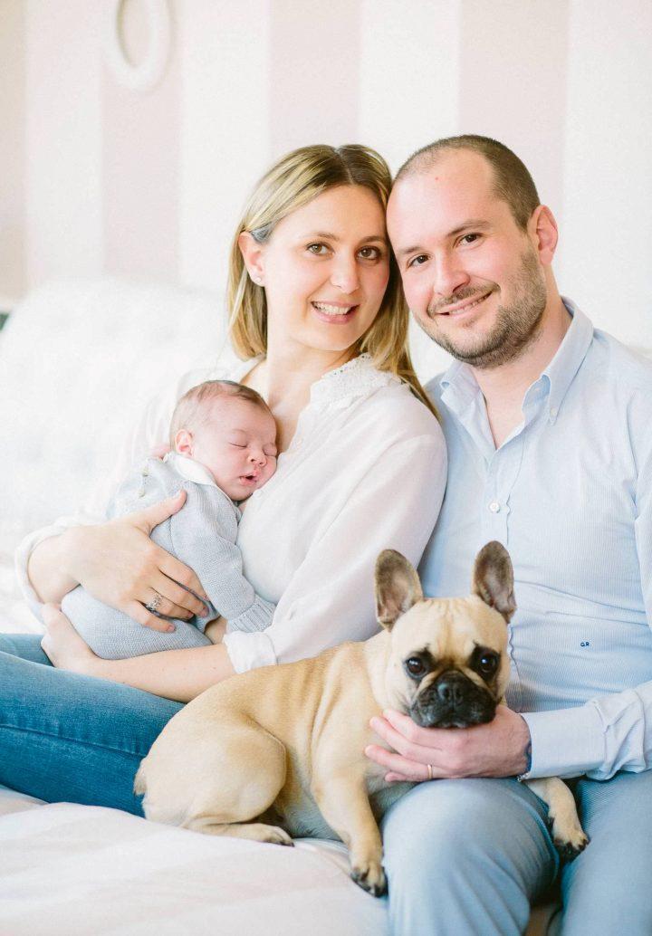 servizio fotografico famiglia cane