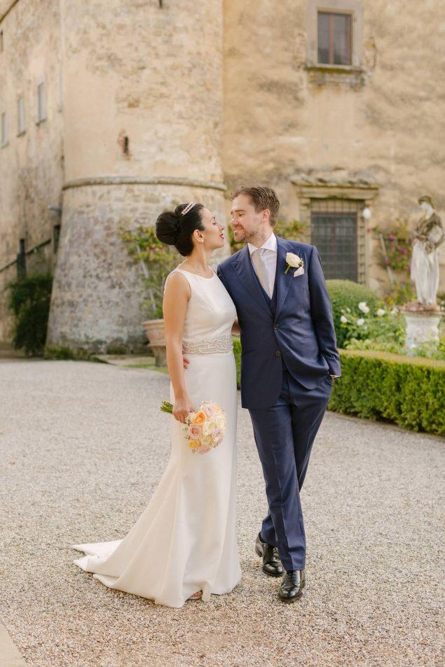 matrimonio toscana al castello di paneretta