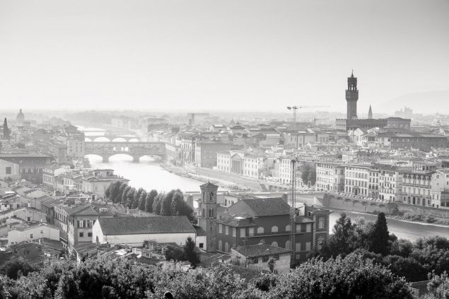 Panorama da Piazzale Michelangelo Firenze
