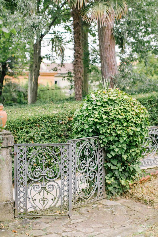 Giardino privato a Firenze