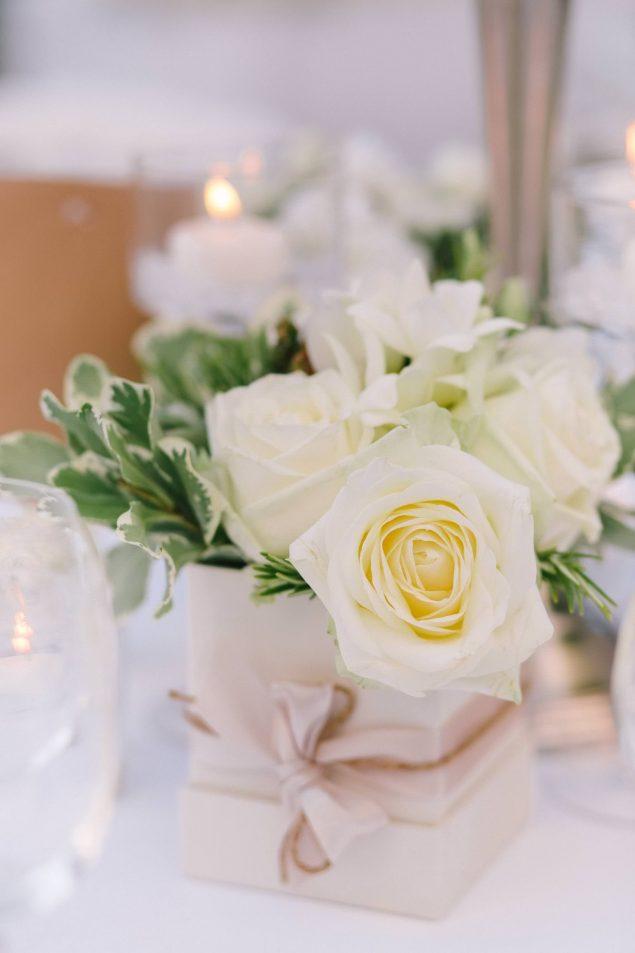 fiori matrimonio tavoli
