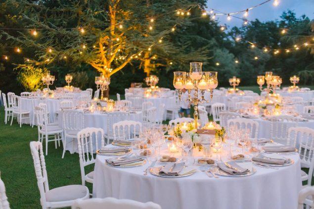 allestimento cena matrimonio pistoia