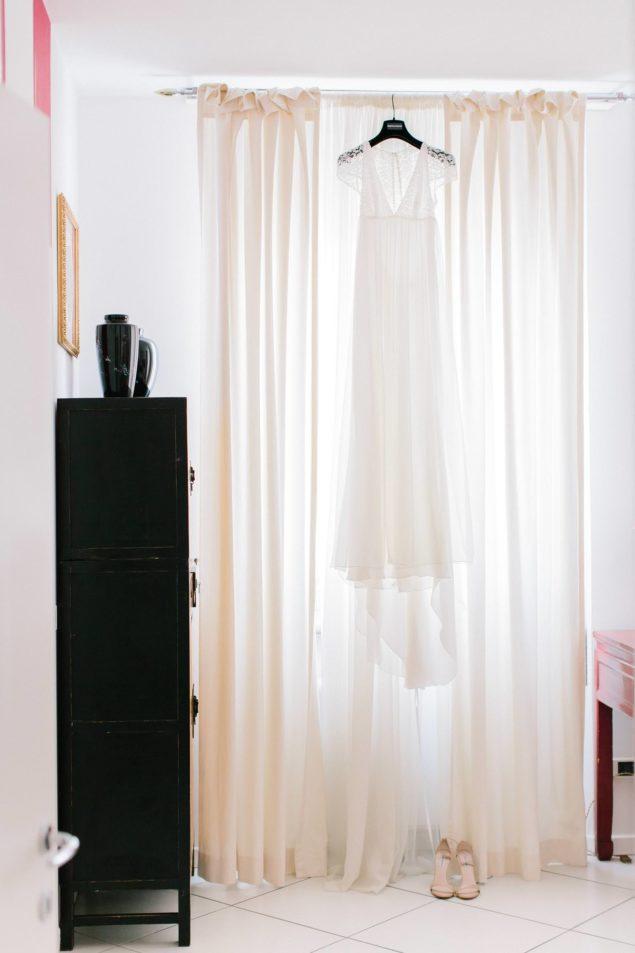 abito da sposa Delphine Manivet