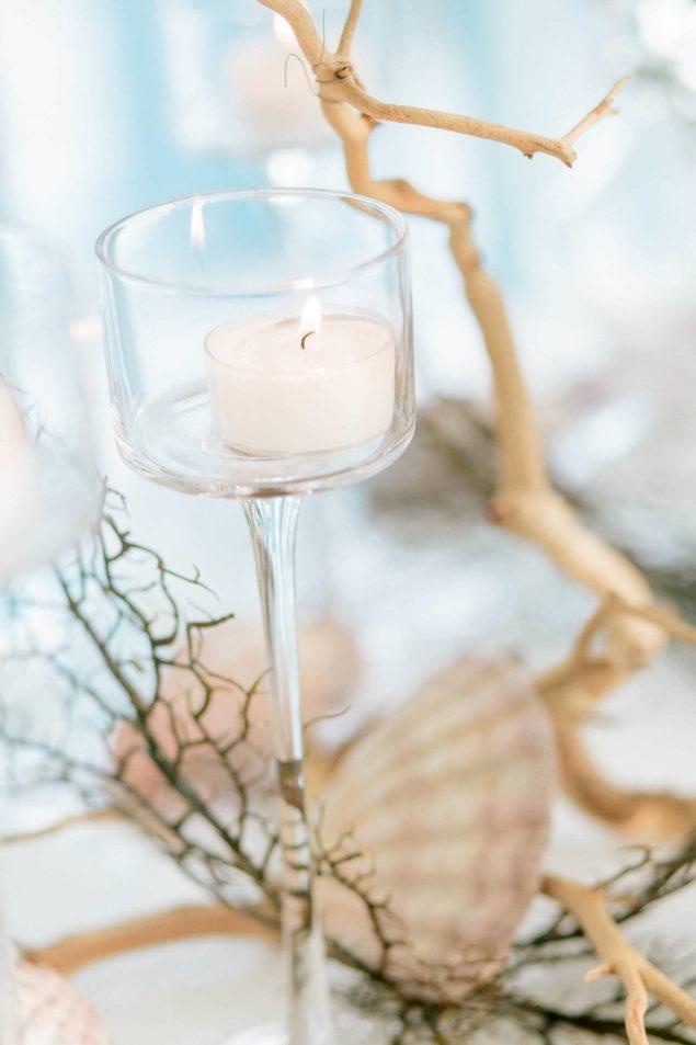 candele per matrimonio