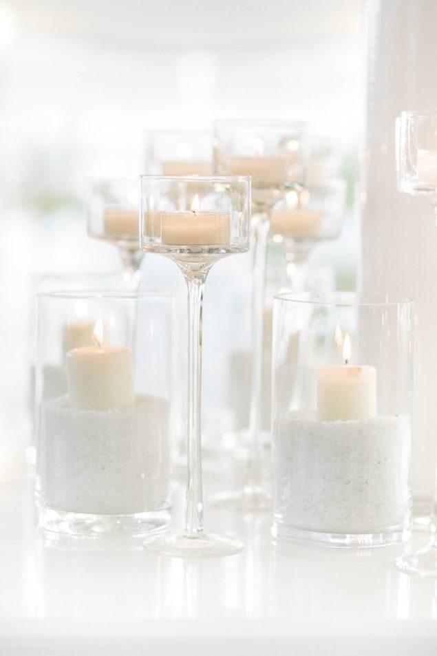candele matrimonio spiaggia
