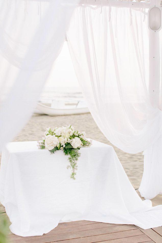 cerimonia simbolica spiaggia matrimonio