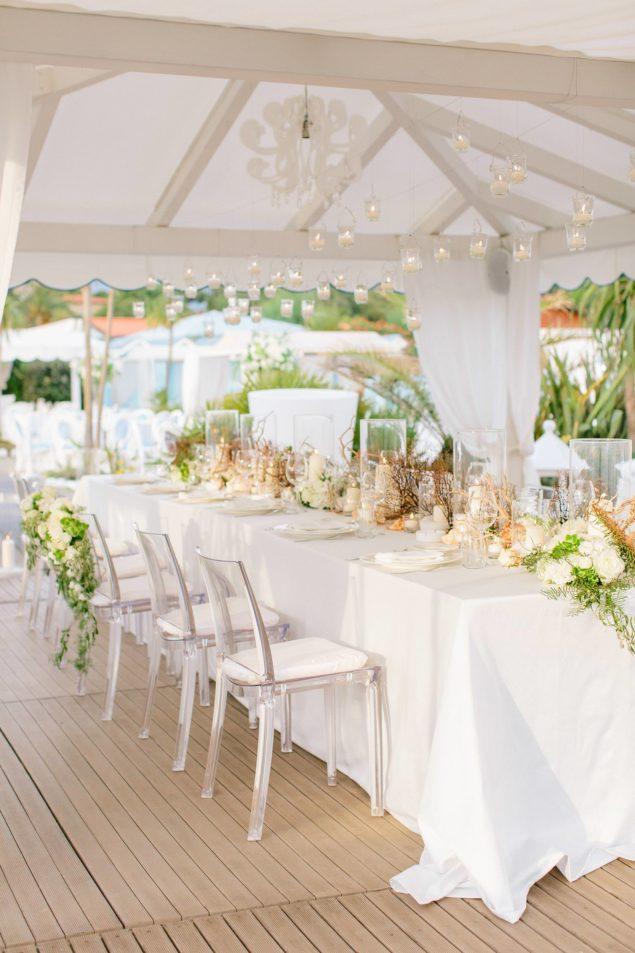 tavola allestimentoi fiori matrimonio