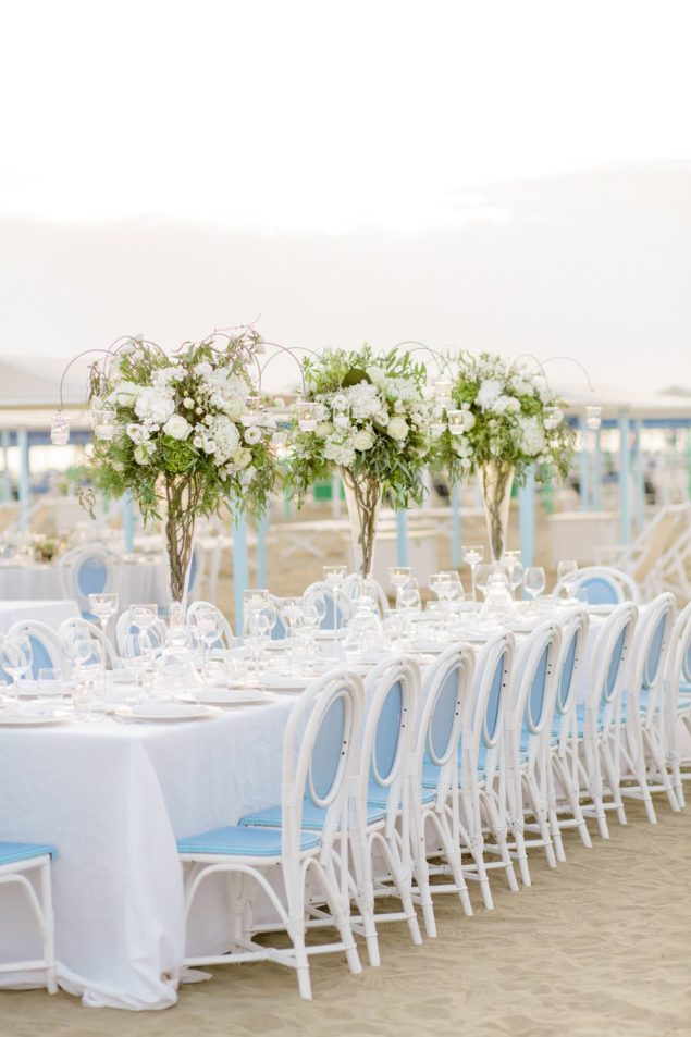 cena matrimonio mare