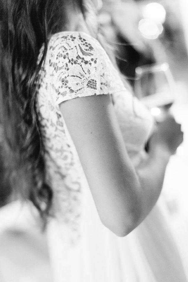 dettagli pizzo abito da sposa