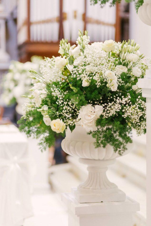 allestimento fiori chiesa matrimoniuo