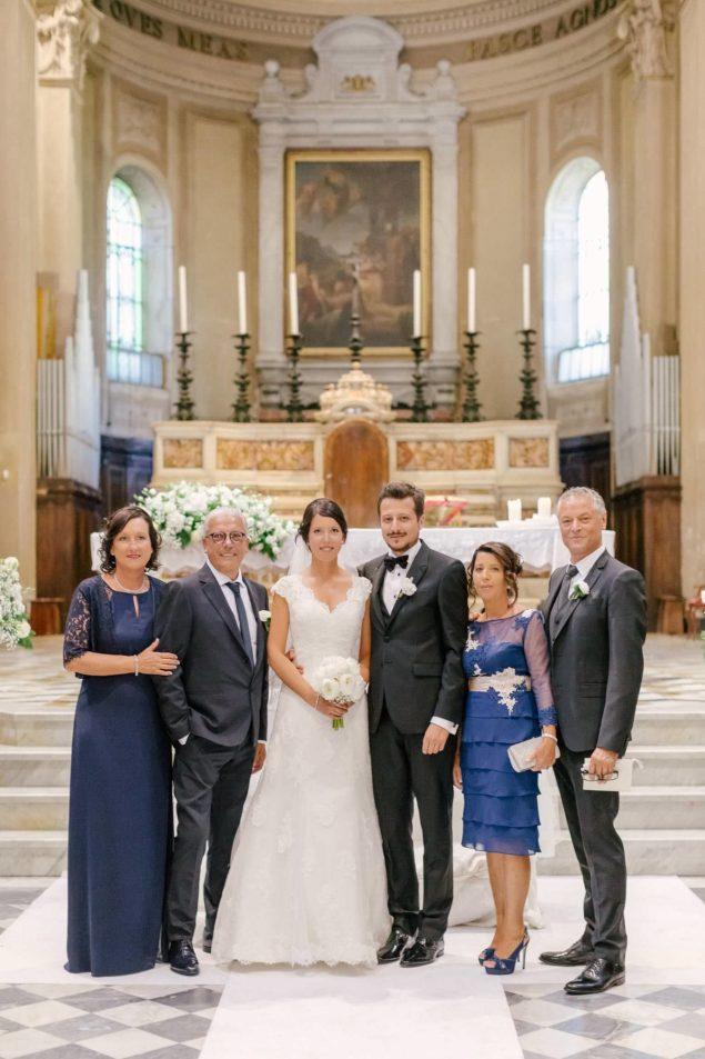 foto di famiglia matrimonio
