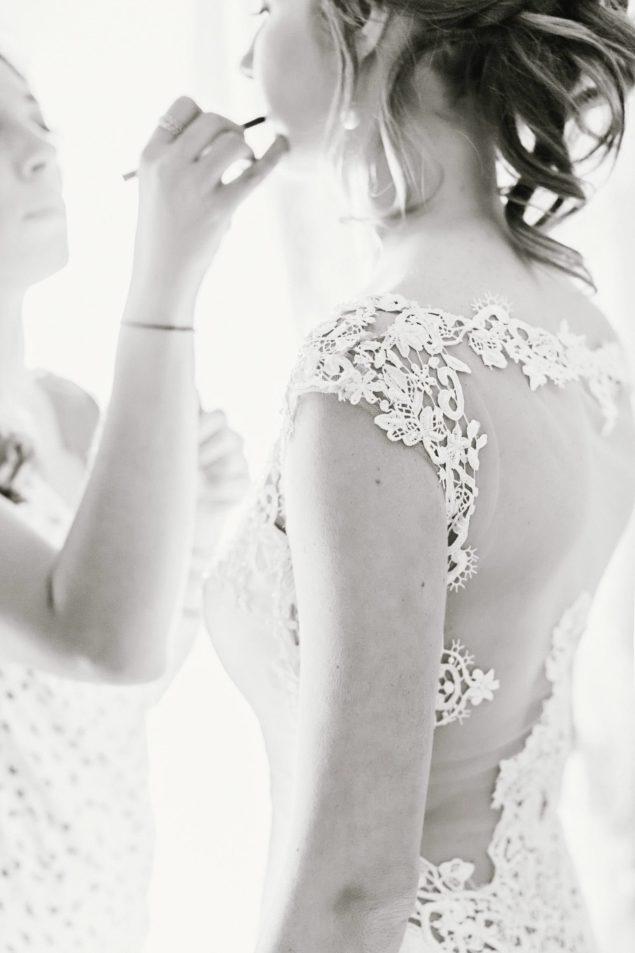 pizzo abito sposa