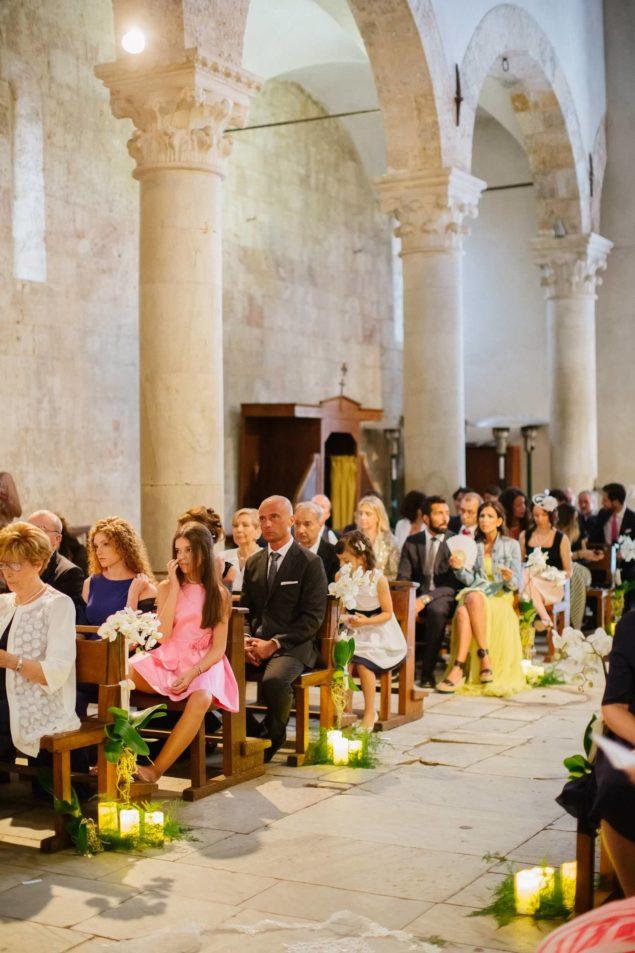 ospiti in chiesa matrimonio