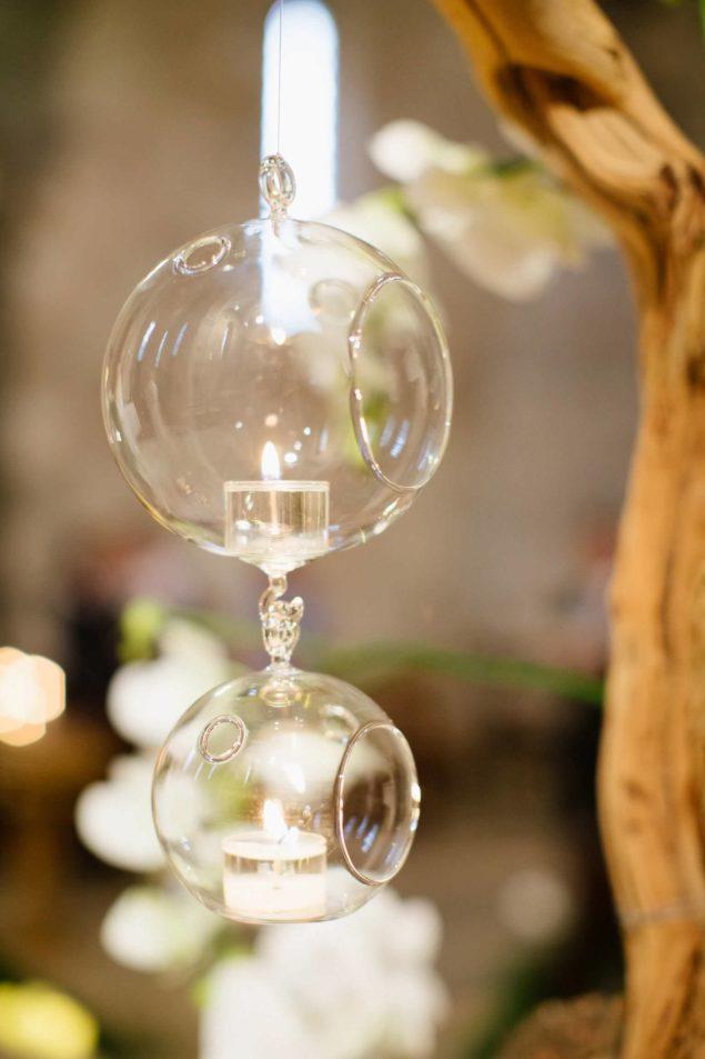 allestimento chiesa candele matrimonio