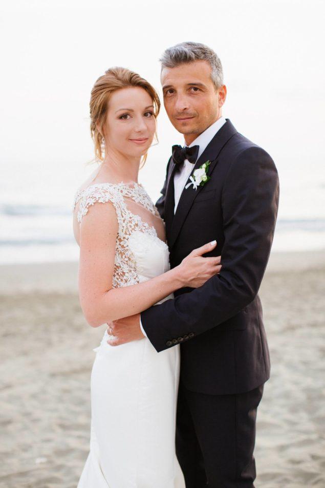 sessione foto spiaggia matrimonio