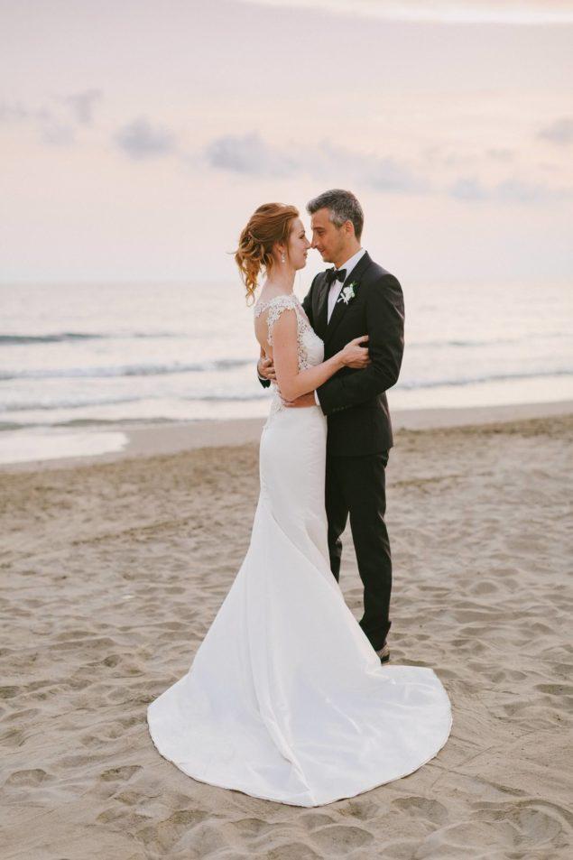 servizio fotografico matrimonio sulla spiaggia