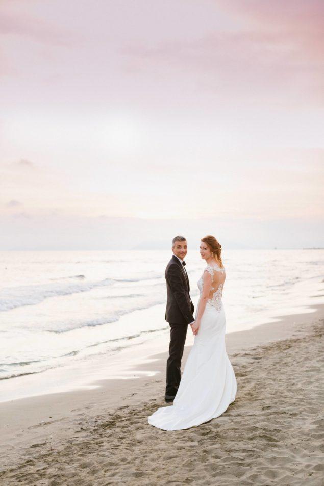 servizio fotografico matrimonio sul mare