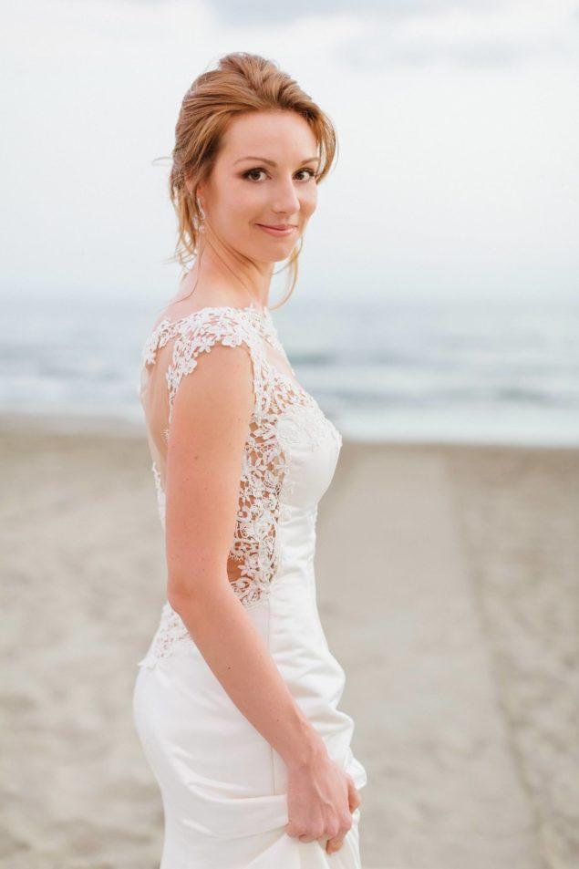 ritratto sposa matrimonio spiaggia