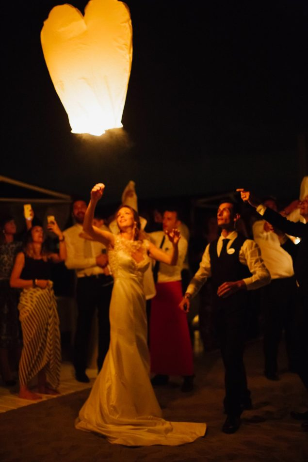 matrimonio lanterne
