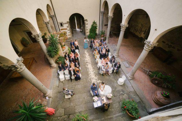 cerimonia matrimonio castello del trebbio