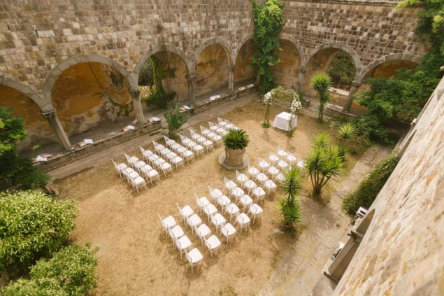 cerimonia matrimonio castello di vincigliata