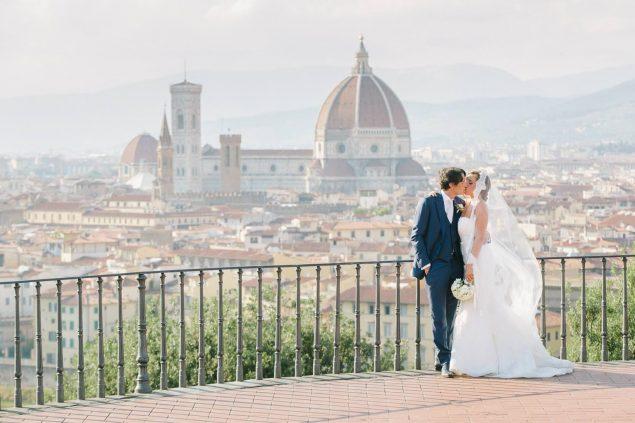 matrimonio a firenze piazzale michelangelo