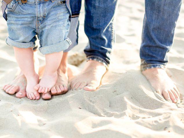 fotografie famiglia spiaggia
