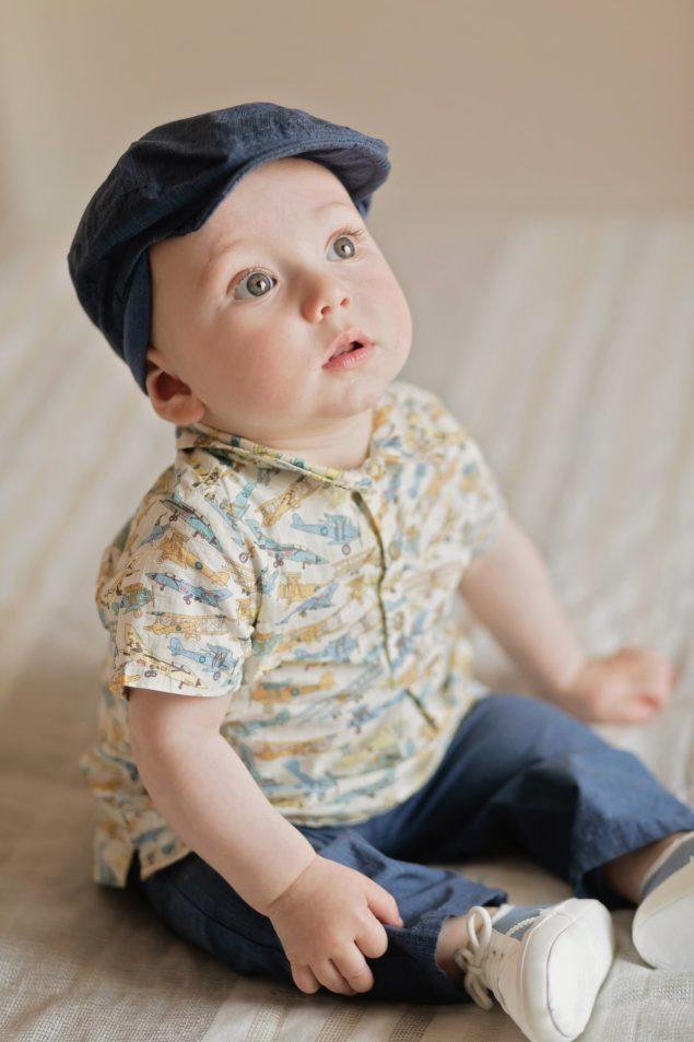 servizio fotografico bambini un anno