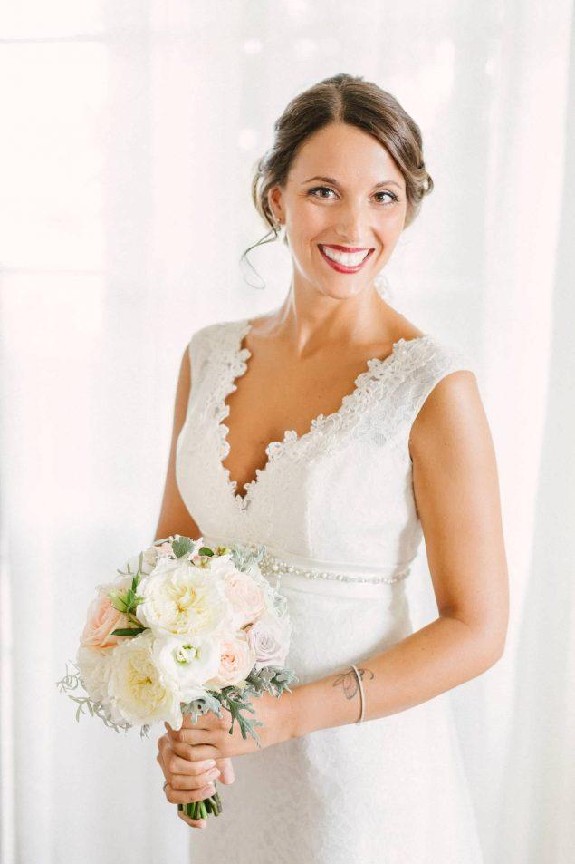 bellissima sposa abito pizzo