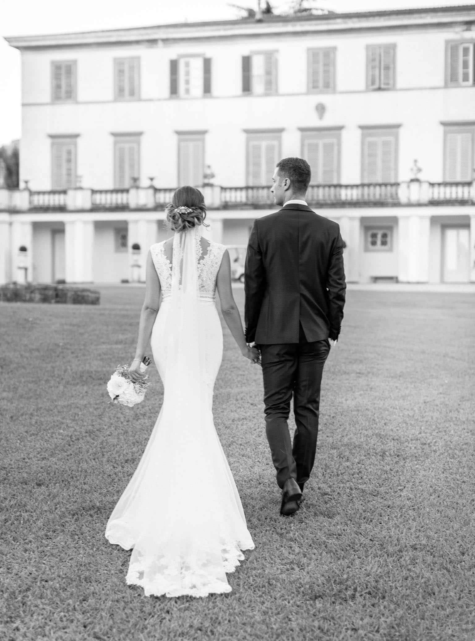 servizio fotografico di matrimonio a villa bruguier
