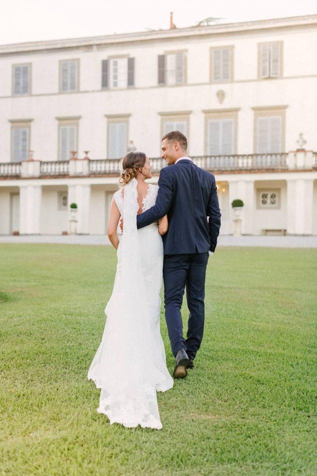 villa bruguier foto sposi
