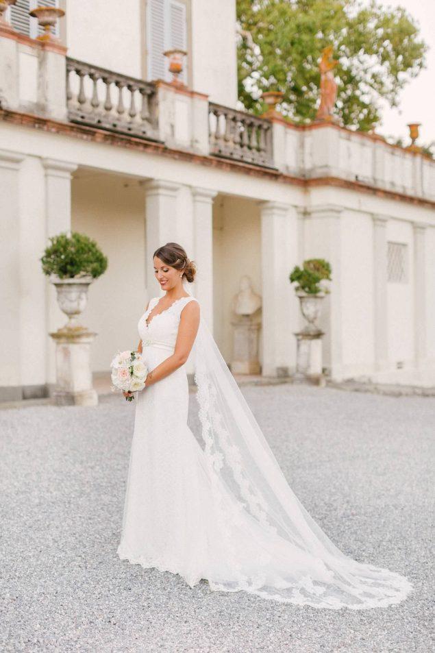 romantico abito da sposa villa bruguier