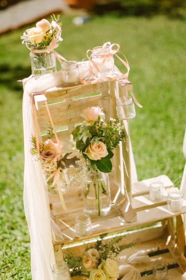 allestimento matrimonio fiori