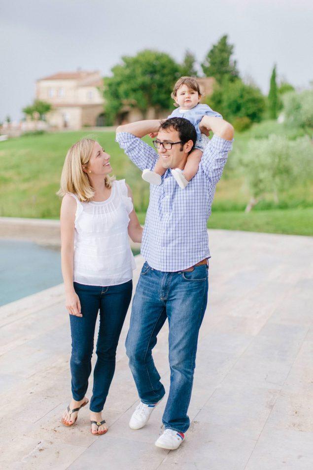 fotografie di famiglie