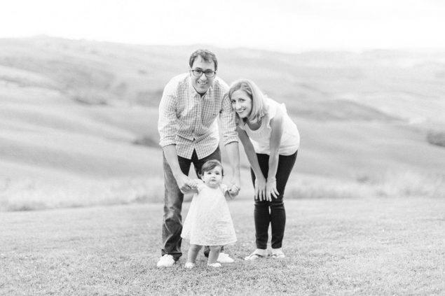servizio fotografico famiglia all'aperto