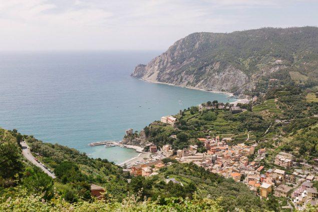 panorama Monterosso cinque terre