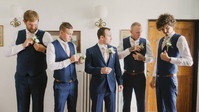 preparazione sposo eremo della maddalena