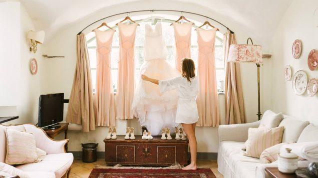 abito da sposa abito damigelle