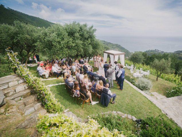 cerimonia matrimonio eremo della maddalena monterosso al mare
