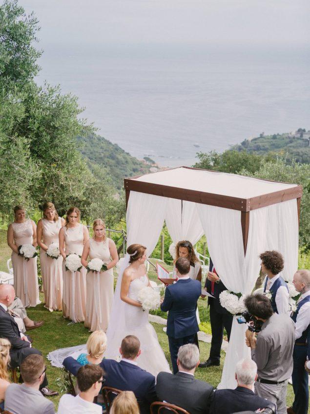 matrimonio eremo della maddalena cinque terre