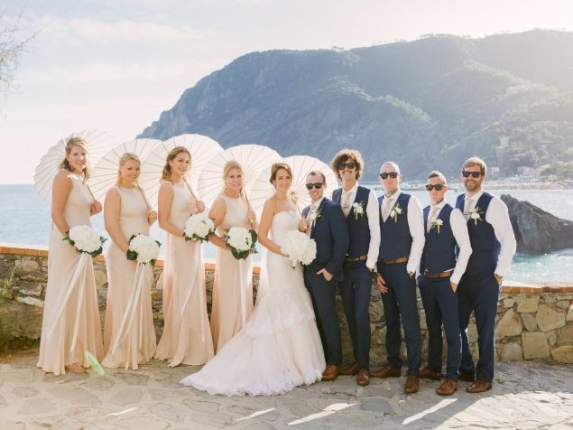 matrimonio inglese a monterosso cinque terre