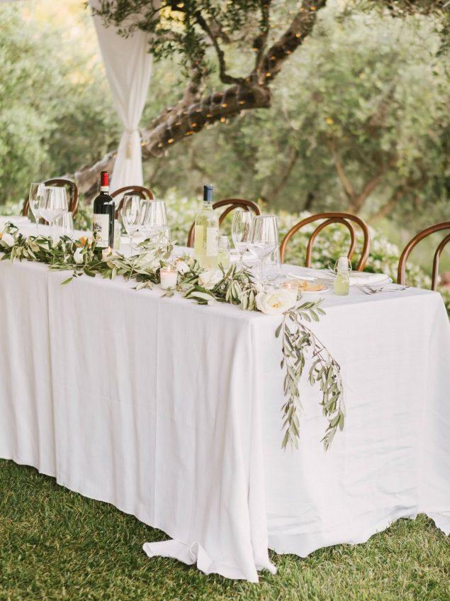 allestimento tavolo matrimonio eremo della maddalena monterosso