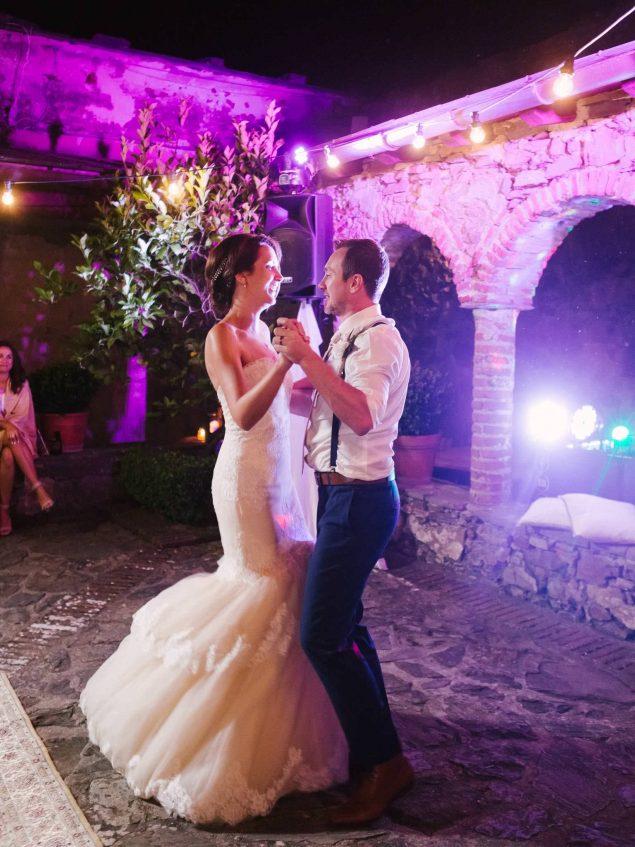 primo ballo sposi eremo della maddalena monterosso